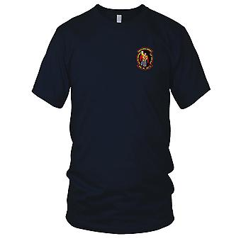 US Navy HSL-46 Det 3 Embroidered Patch - Disposable Heroes USS McInerney Mens T Shirt