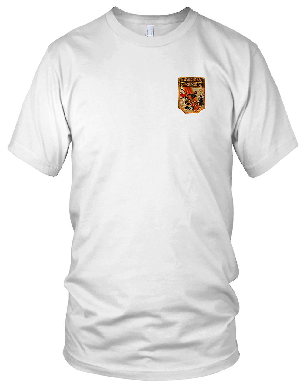 In der Luft MIKEFORCE - Schwarzer Drache gestickt Patch--ARVN AVBP MACV-SOG Vietnamkrieg gestickt Patch - Kinder T Shirt
