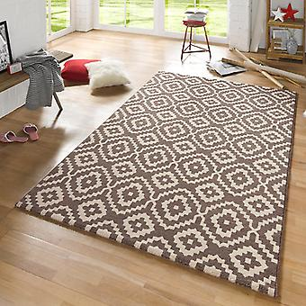 Design carpet Skandi Brown cream | 102438