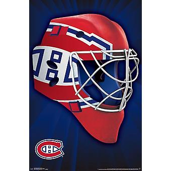 Montreal Canadiens - Mask 16 Poster Poster Print