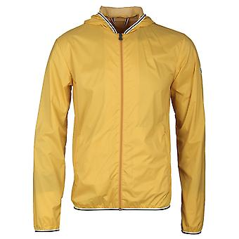 Pyrenex Yolk Yellow Hooded Waterproof Hendrick Light Jacket