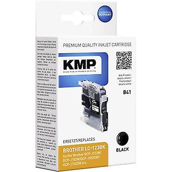 KMP Ink replaced Brother LC-123 Compatible Black