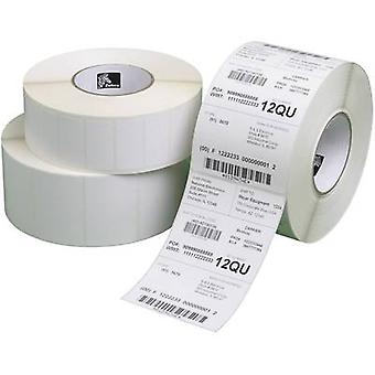 Zebra Labels (roll) 57 x 76 mm Direct thermal transfer paper Whi
