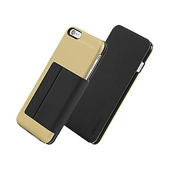 Incipio Highland fall för Apple iPhone 6 Plus / iPhone 6S Plus - guld/svart