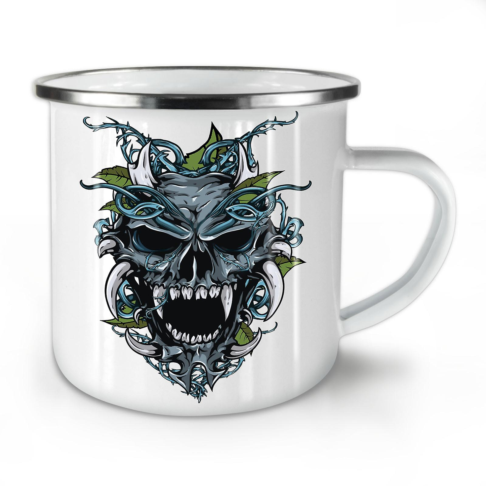 Demon Émail Mug10 L'enfer Café Whitetea OzWellcoda Nouveau HW9DIYe2E