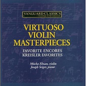 Elman/Seiger - virtuos mesterværker ved Violin [CD] USA import