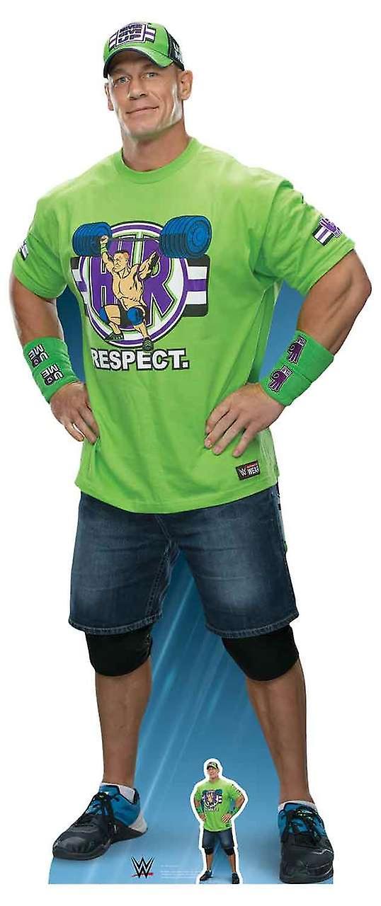 John Cena les mains sur les hanches WWE LifeTaille carton découpe   stand-up