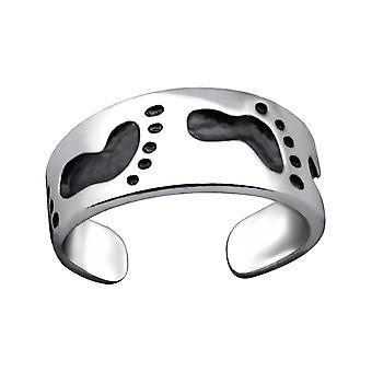 Stampa - argento 925 anelli punta - W29425x del piede