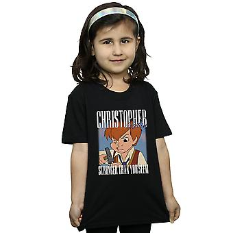 Disney Winnie The Pooh Christopher Robin Montage T-Shirt für Mädchen