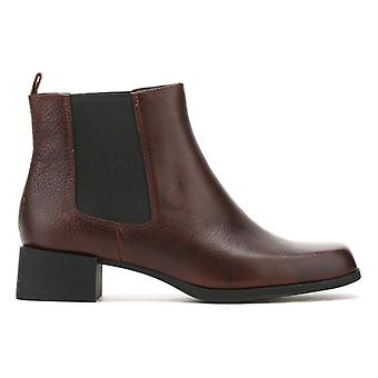 Camper Womens Cigar Brown Kobo Ankle Boots