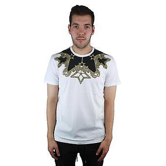 Versace colección V800683S VJ00289 V7001 blanco t-shirt