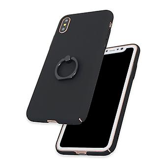 Black case with Ring-holder for iPhone XS