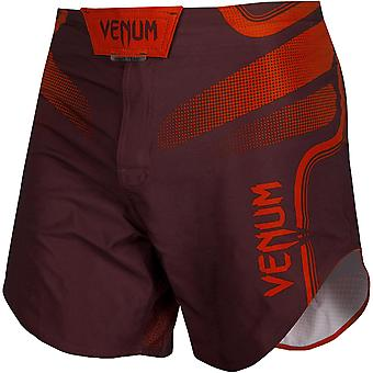 Venum Tempest 2.0 Lightweight Mid-Thigh MMA Fight Shorts - Red/Red