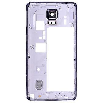 Quadro de carcaça traseira preto para Samsung nota 4 - N910V / 910P