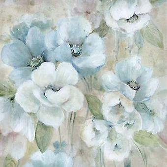 Pastel Garden II Poster Print by Carol Robinson (24 x 24)