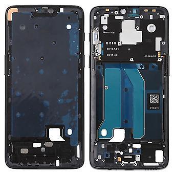 Gehäuse Rahmen Mittelrahmen Deckel kompatibel für OnePlus 6 SIX Schwarz