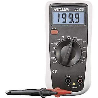 VOLTCRAFT VC135 Handheld multimeter Digital CAT III 600 V Display (counts): 2000