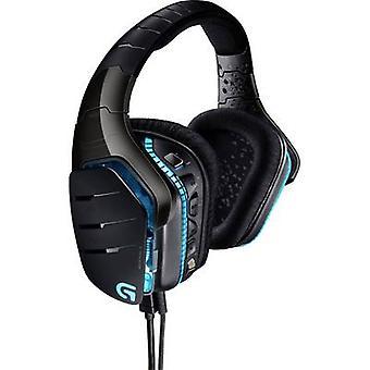 Gaming headset USB, 3.5 mm jack Corded Logitech Gaming G633 Artemis Spectrum Over-the-ear Black