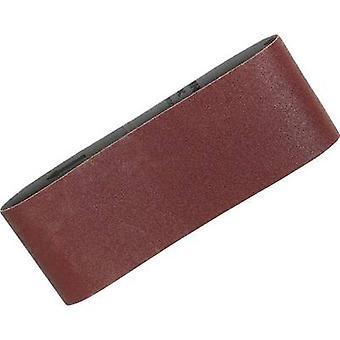 Sandpaper belt Grit size 40 (L x W) 610 mm x 100 mm