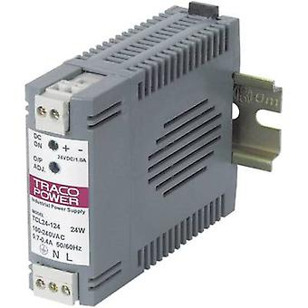 TracoPower TCL 024-105 Rail mounted PSU (DIN) 5 Vdc 4 A 24 W 1 x