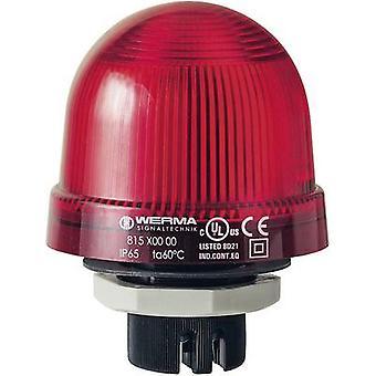 Light Werma Signaltechnik 815.100.00 Red Non-stop light signal 12 V AC, 12 Vdc, 24 V AC, 24 Vdc, 48 V AC, 48 Vdc, 110 V AC, 230 V AC