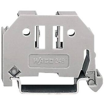WAGO 249-117 Wago Screwless End Bracket Compatible with (details): 35 mm mounting rail