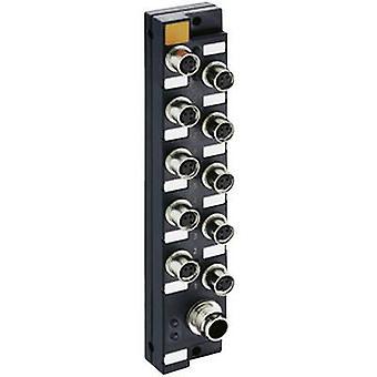 Sensor & actuator box (passive) M8 + steel thread ASBSM 10/LED3 65348 Lumberg Automation 1 pc(s)