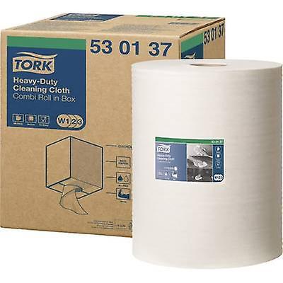 TORK 530137 répété utilisation polyvalente 530 (L x L) 38 cm x 32 cm blanc