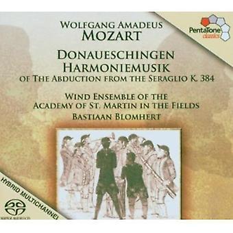 W.a. Mozart - Mozart: Importación Donaueschingen Harmoniemusik [SACD] Estados Unidos