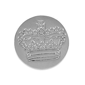 Golf Ball Marker Silver Jubilee Crown - Solid Silver
