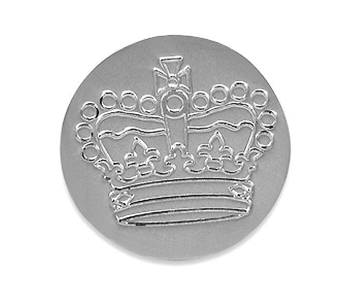 Golf Ball Marker Silver Jubilee Crown - Solid Silver