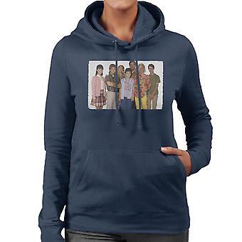 Retro The Wonder Years Cast Women's Hooded Sweatshirt