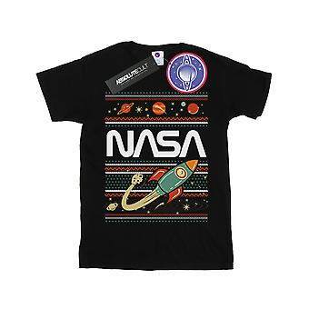 NASA Girls Fair Isle T-Shirt