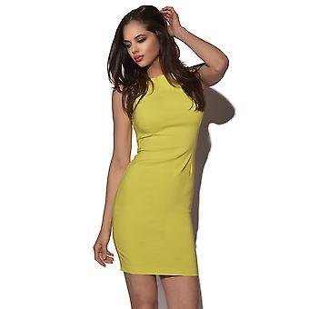 Lever én og én Lia kontrast kjole