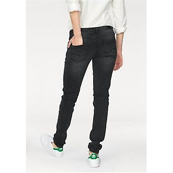 Q / S designed by s. Oliver ladies of jeans with black stitching