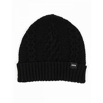 Edwin Jeans United Beanie Hat - Black