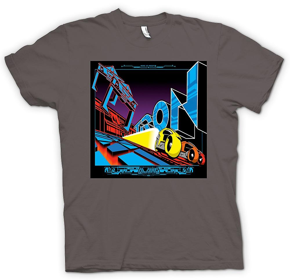 Womens T-shirt - Tron - Pop Art - Cool B Movie