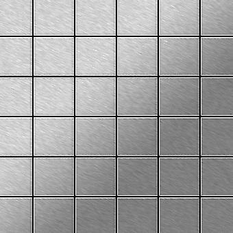 Mosaïque en métal massif Acier inoxydable ALLOY Cinquanta-S-S-MB