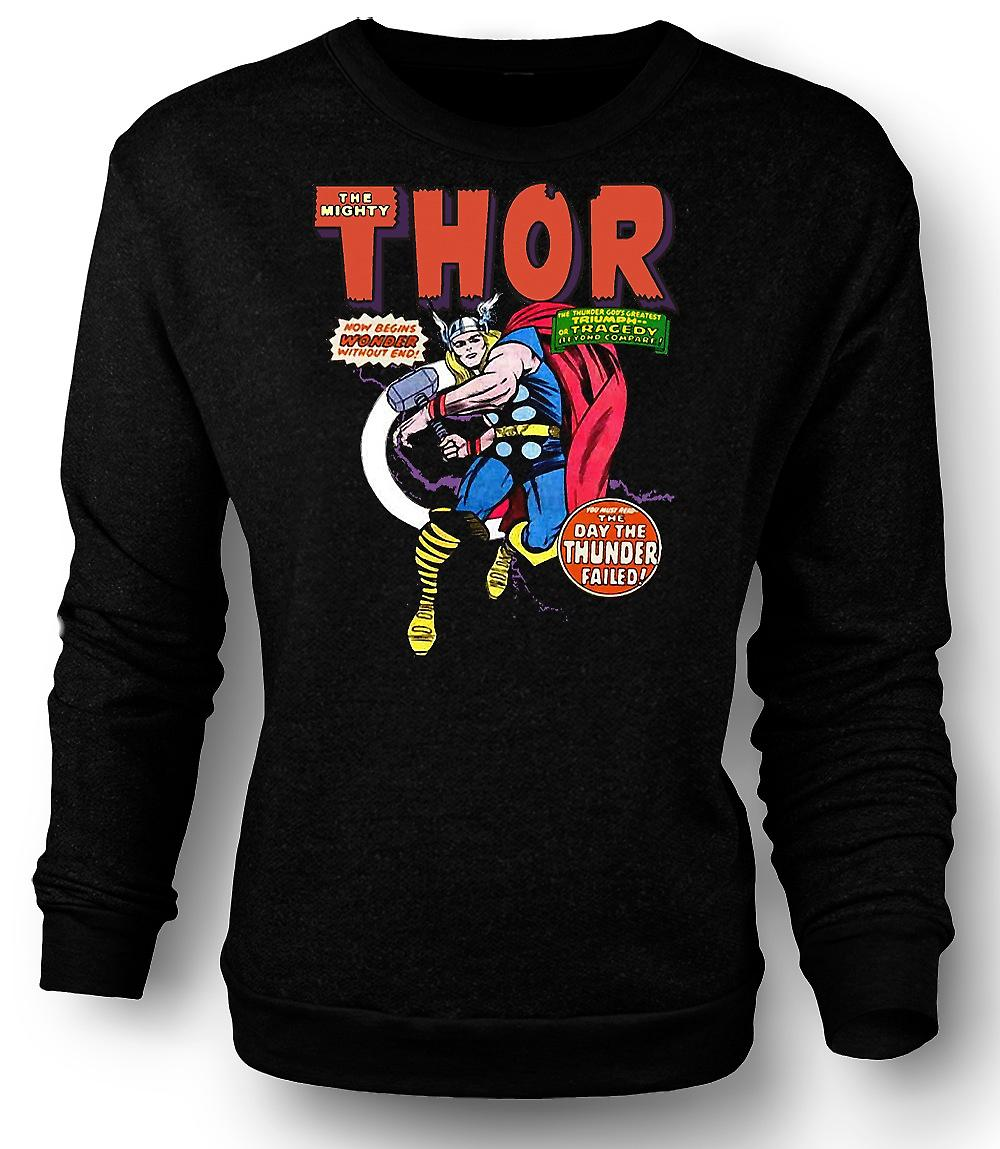 Heren Sweatshirt Captain America - komische held