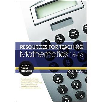 Resurser för undervisning matematik - 14-16 Colin Foster - 978082643