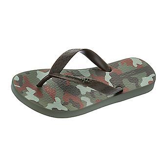 Ipanema Kids Classic Flip Flops / Sandals - Khaki Camo