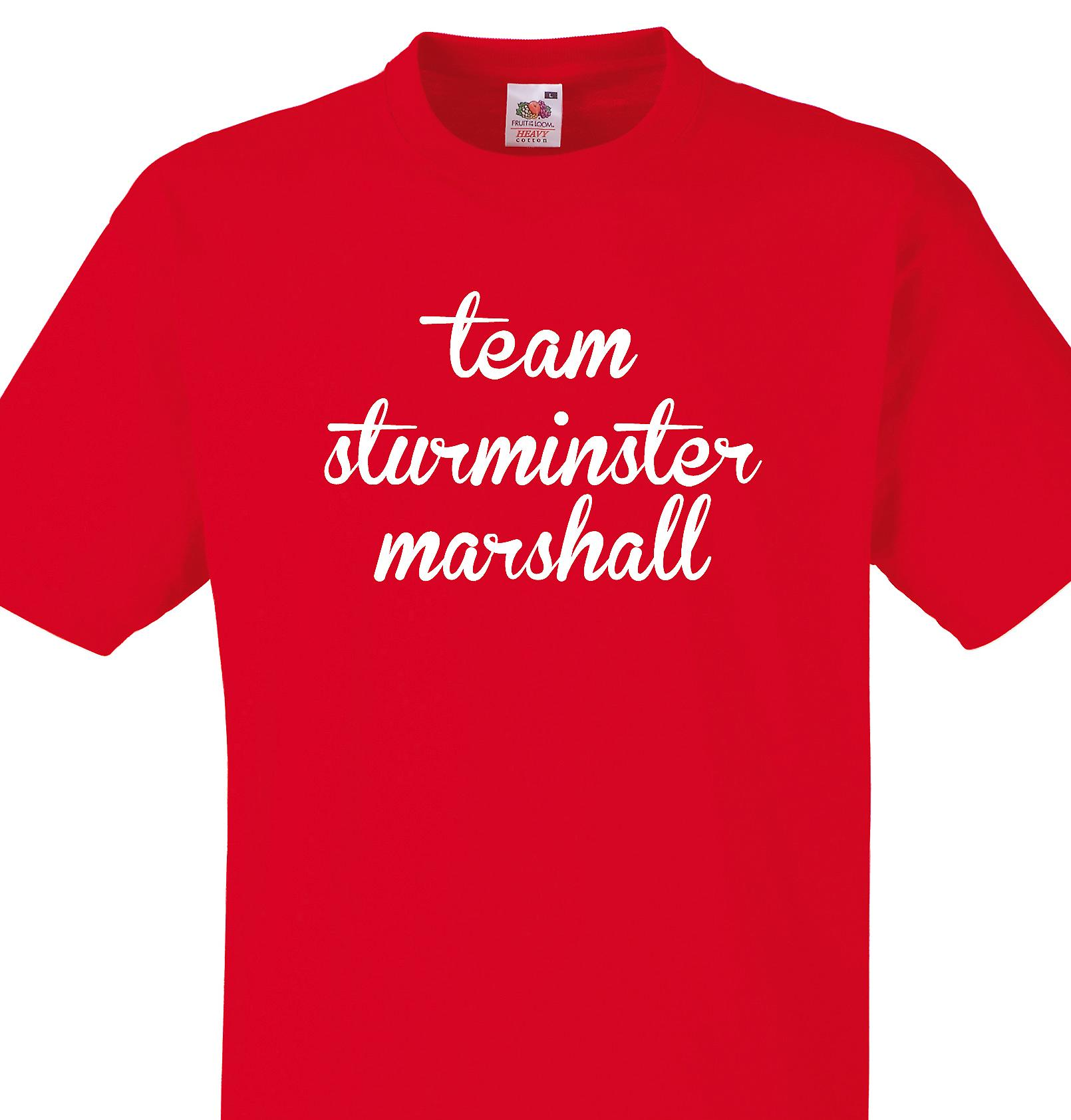 Team Sturminster marshall Red T shirt
