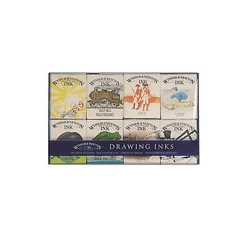 Winsor & Newton Drawing Inks William Collection 8 x 14ml