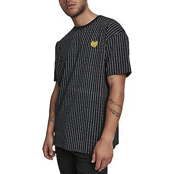 Wu-wear hip hop shirt - PINSTRIPE black