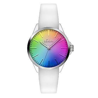 s. Oliver _ unisex bracelet quartz analogue watch, Silicone 3199 _ PQ