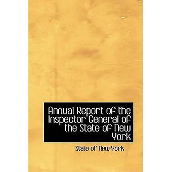 التقرير السنوي للمفتش العام للدولة من نيويورك بنيويورك آند الدولة