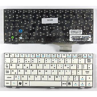 Asus Eee PC 900 20G White UK Layout Replacement Laptop Keyboard