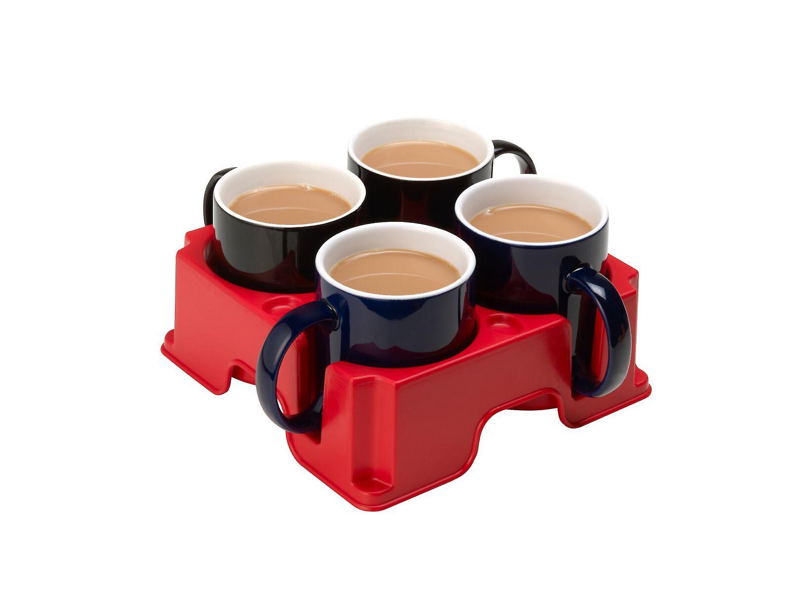 Red Muggi - Nonslip drink tray