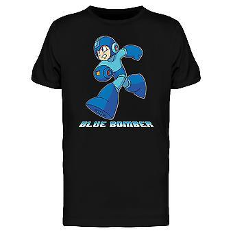 Mega Man Capcom Blue Bomber T-shirt homme