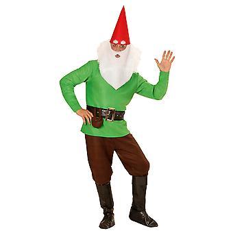 Grön gnome